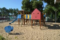 jeux enfants camping Le California en Vendee