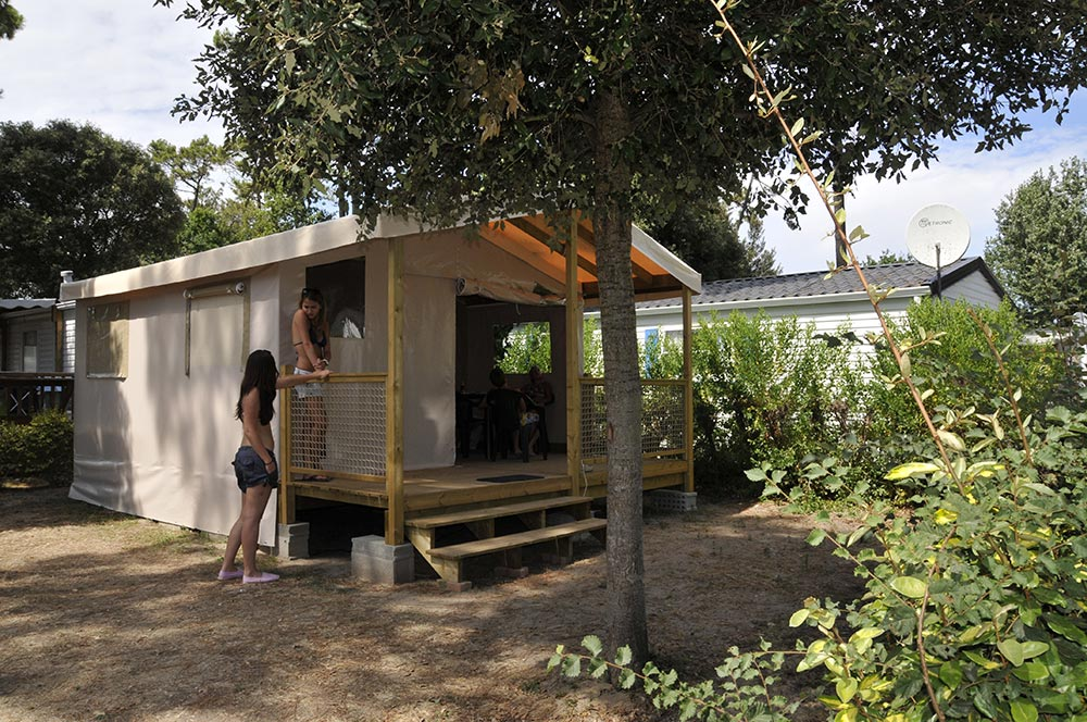 Ecolodge camping le California Saint Jean de Monts