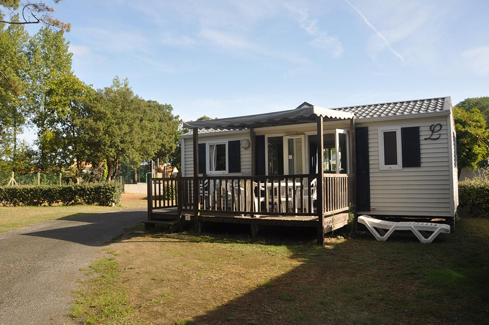 Mobile Home Classique 2 Bedrooms Terrass Camping Saint