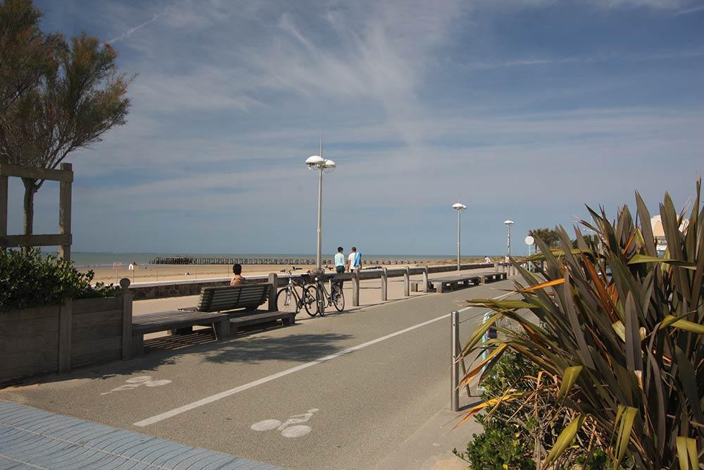 plages et pistes cyclables
