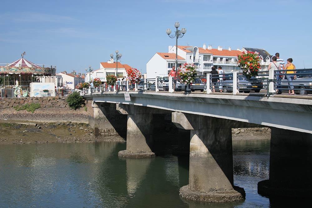 Saint Gilles Croix de Vie - pont de la Vie