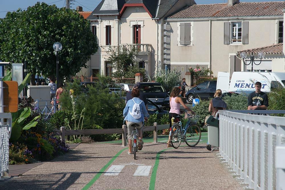 Saint Gilles Croix de Vie - pistes cyclables