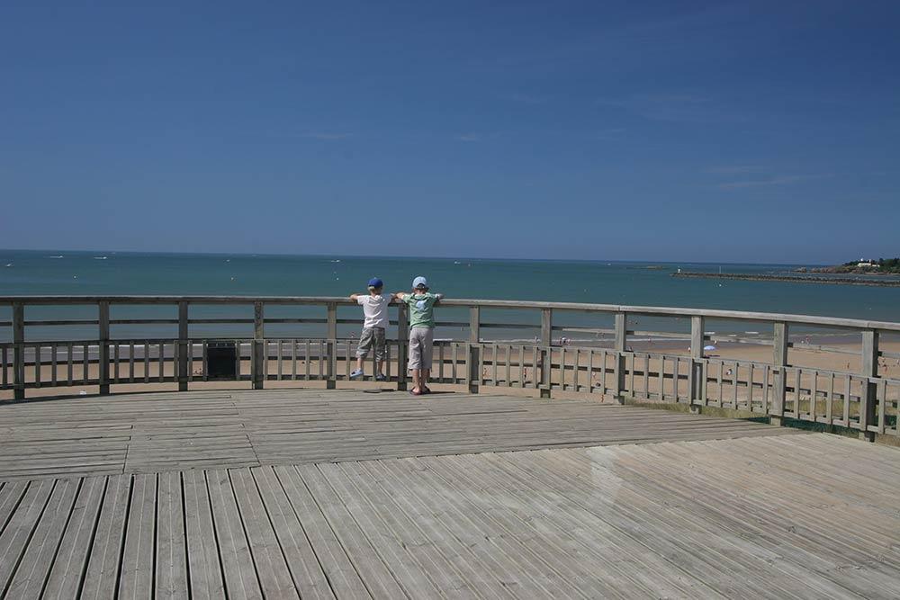 Saint Gilles Croix de Vie - vue mer