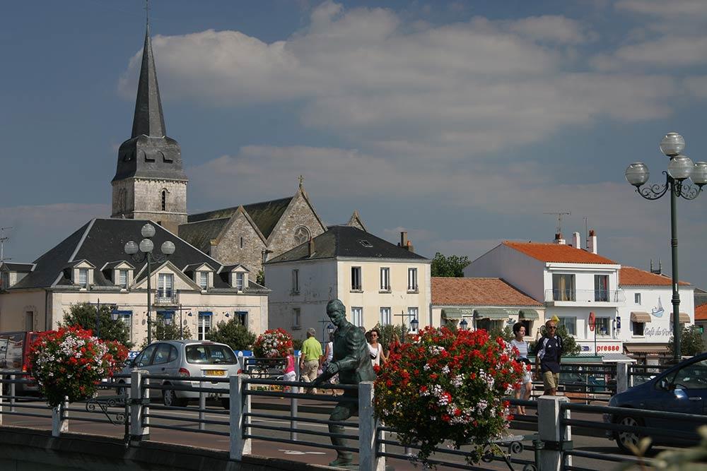 Saint Gilles Croix de Vie - l'église