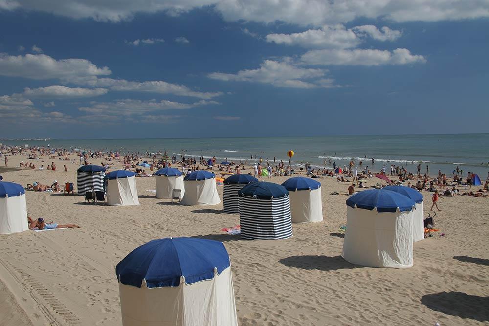 Saint Jean de Monts - cabines de plage