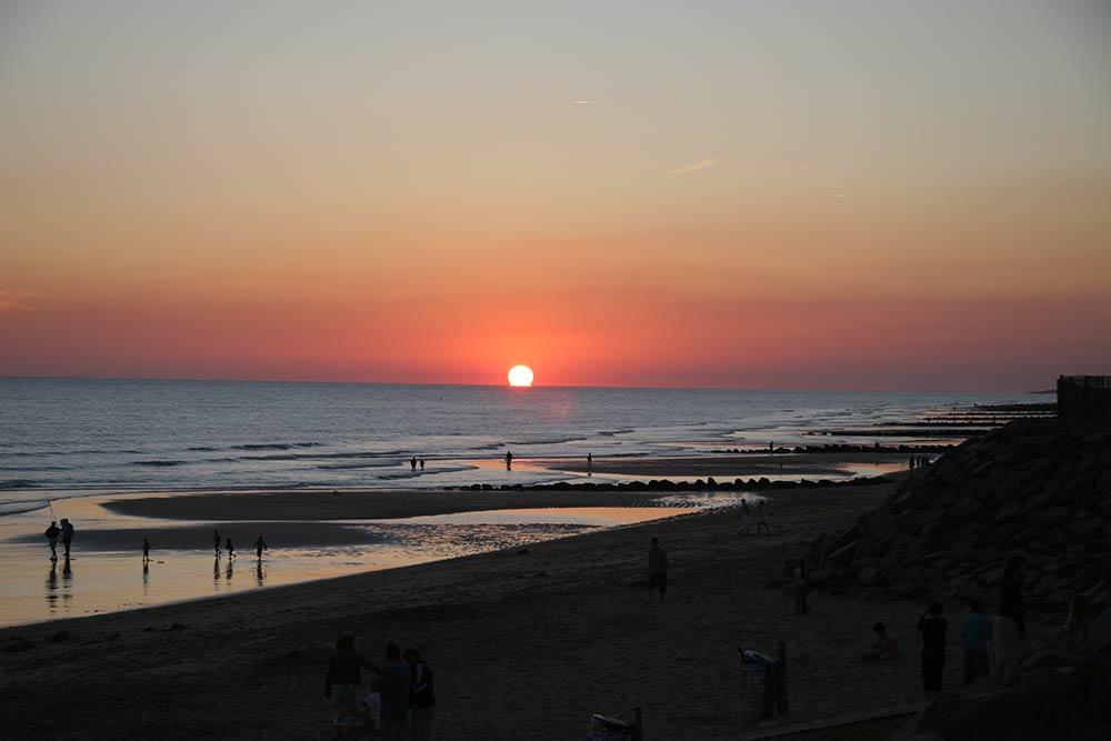 Saint Jean de Monts - coucher de soleil