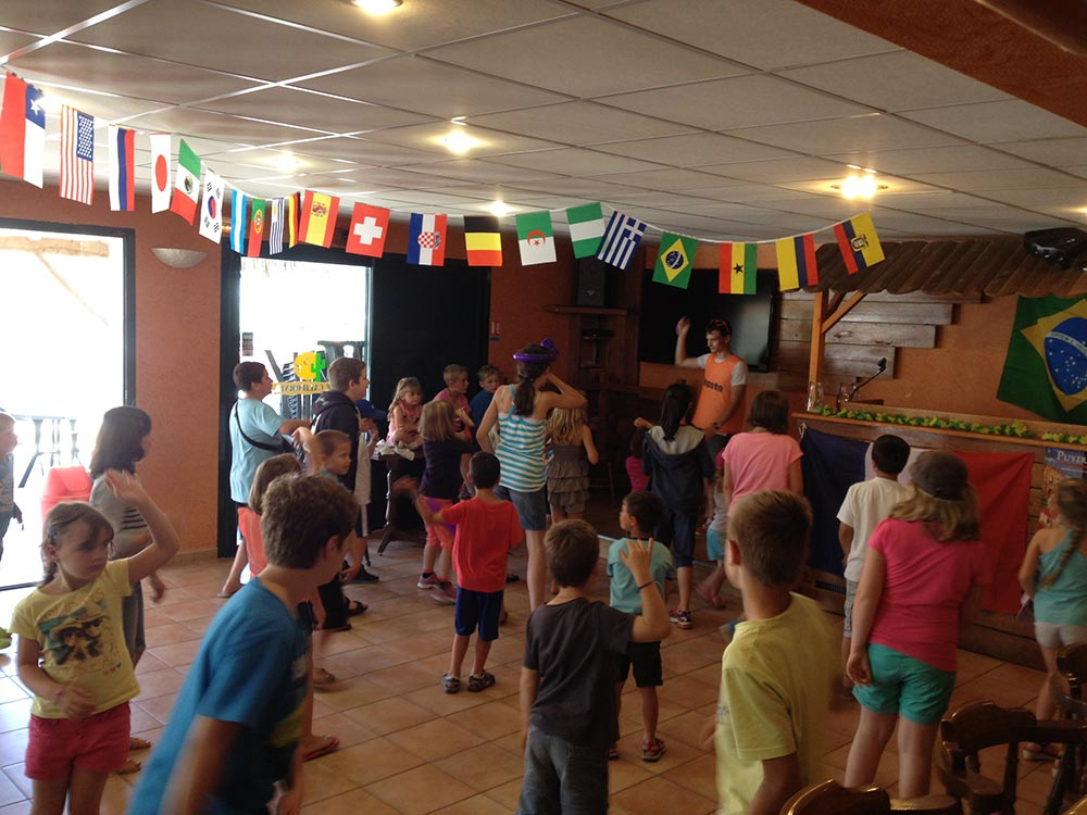 animations enfants du camping