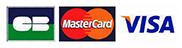 Paiement par carte bancaire accepté