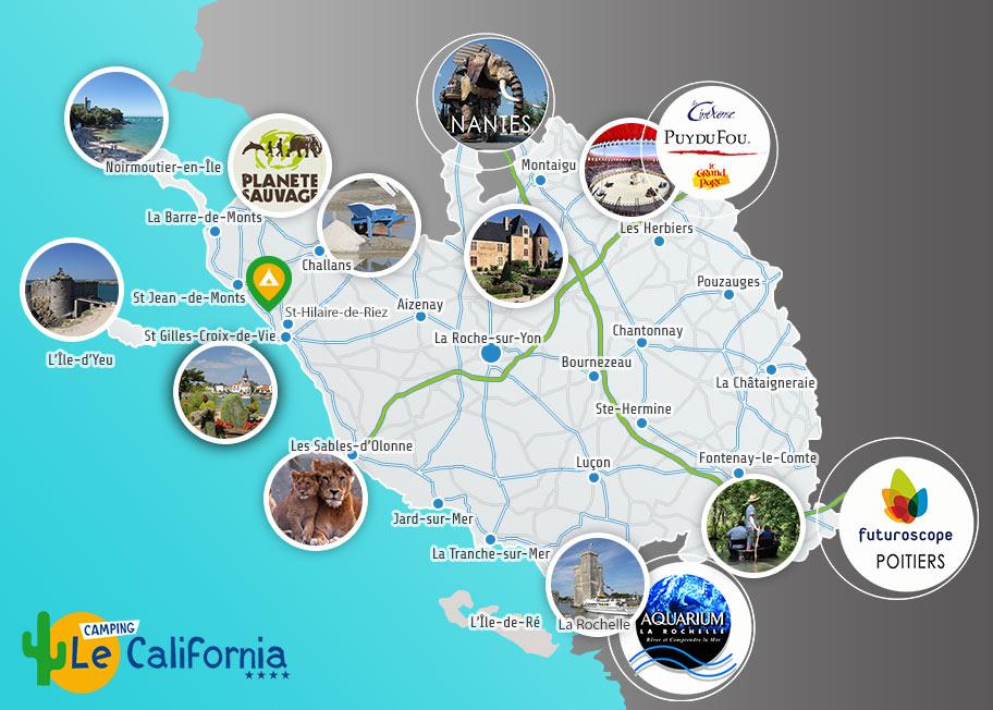 Vend e tourisme voyages cartes - Office de tourisme vendee 85 ...