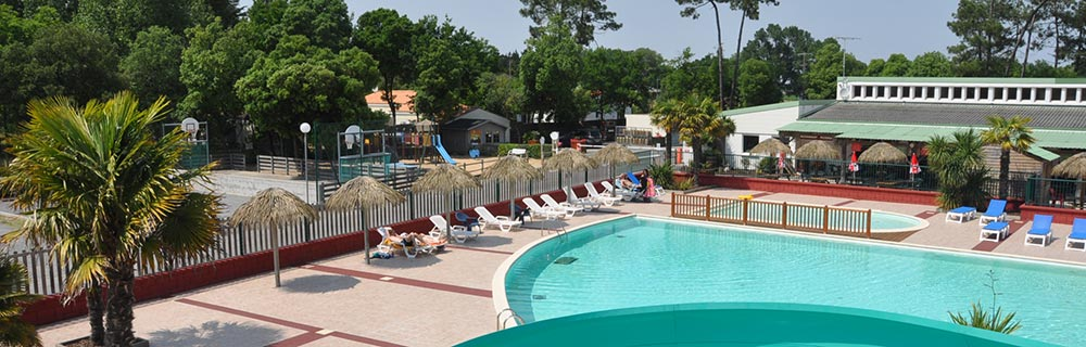 Camping saint jean de monts le california for Piscine st jean de monts