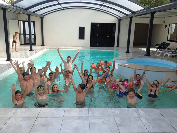 piscine couverte avec animation camping Saint Jean de Monts