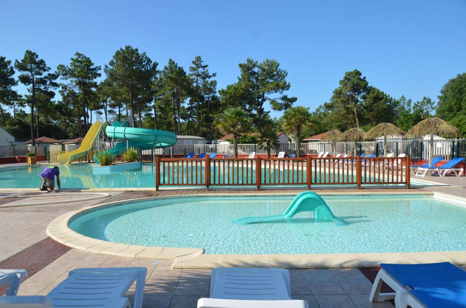 piscine camping le california en vendee camping saint jean de monts le california