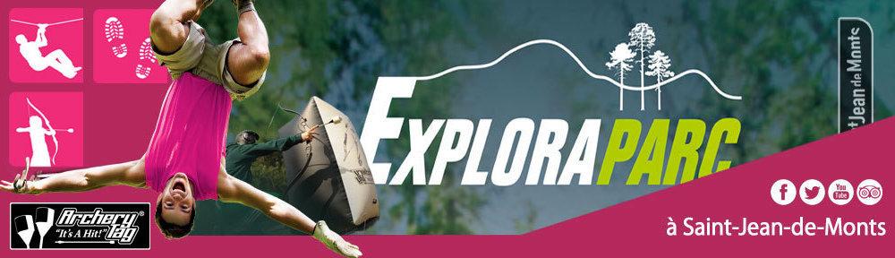 Explora Parc Aventures Vendéennes àSAINT JEAN DE MONTS